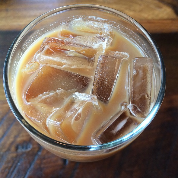 Iced Latte @ Little Red Fox