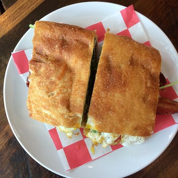 Breakfast Sandwich @ Little Red Fox