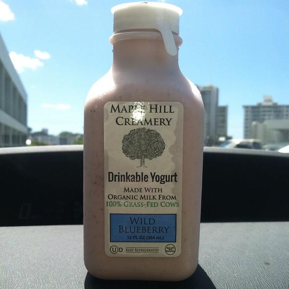 Drinkable Yogurt @ Down To Earth All VEGETARIAN Organic & Natural