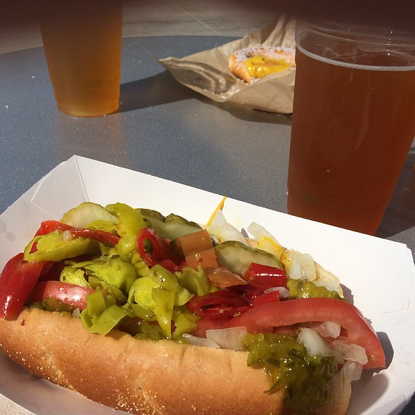Chicago Hot Dog @ Hillsboro Hops