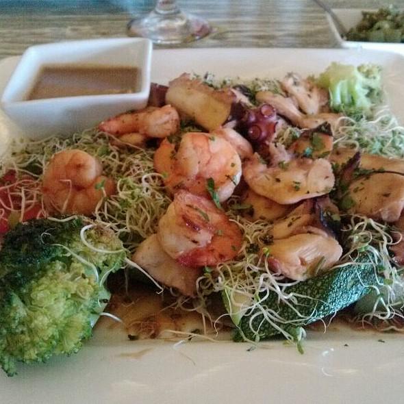 Shrimp & Octopus Tepanyaki @ Sensei