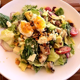 Chicken Chop Salad - Beach Tree Restaurant, Bar and Lounge, Kaupulehu, HI