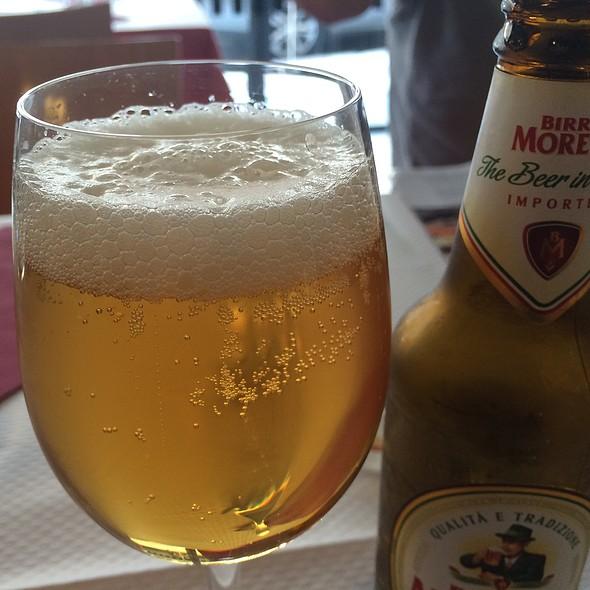 Cerveza Moretti @ Restaurante Spaghetteria la Cosa Nostra