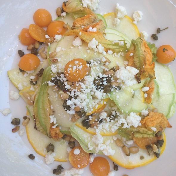 Shaved Summer Squash Salad @ Goose And Gander