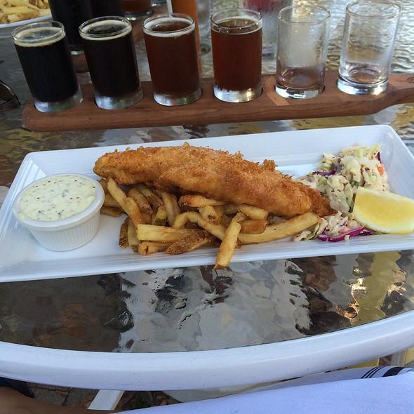 Fish & Ch - Crop Vermont Bistro & Brewery, Stowe, VT