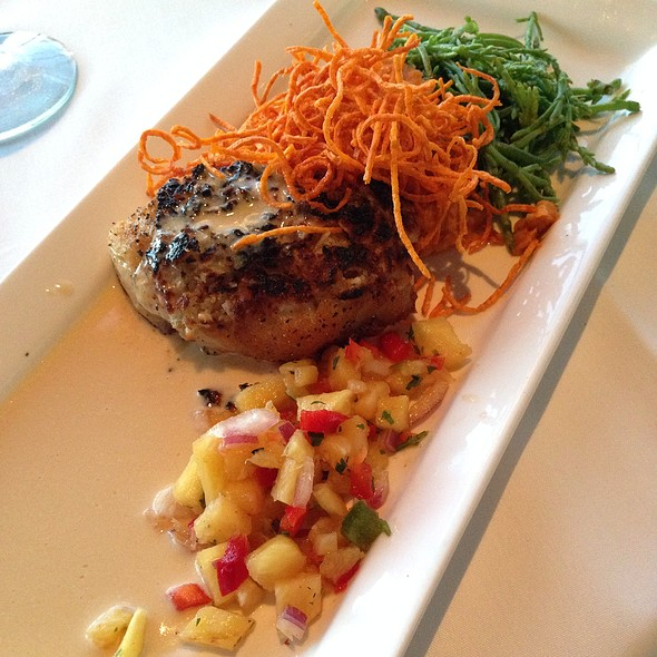 Macadamia And Coconut Crusted Sea Bass @ Vintana Wine + Dine