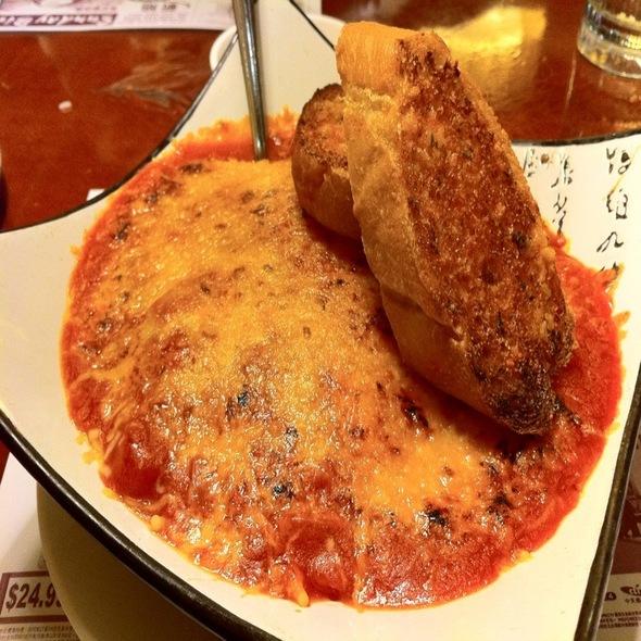 baked spaghetti @ Sunday Bistro