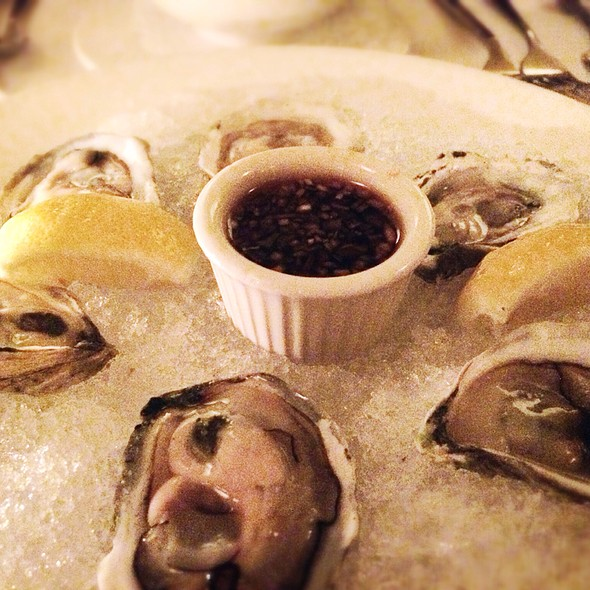 Oysters - Cafe Luxembourg, New York, NY