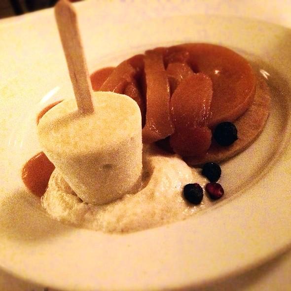 Apricot Tarte Tatin - Cafe Luxembourg, New York, NY