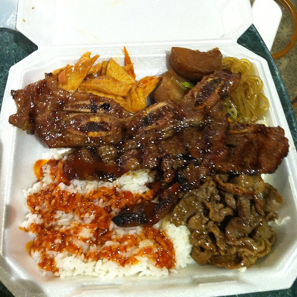 15. Combo Beef And Kalbi @ Bar B Que 99 (Moanalua 99 Shopping Center)