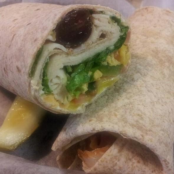 chicken wrap @ Gaunce's Deli & Cafe