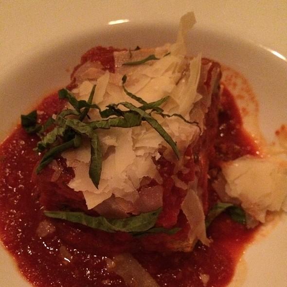 lasagna - Mama Della's Ristorante at Loews Portofino Bay Hotel, Orlando, FL