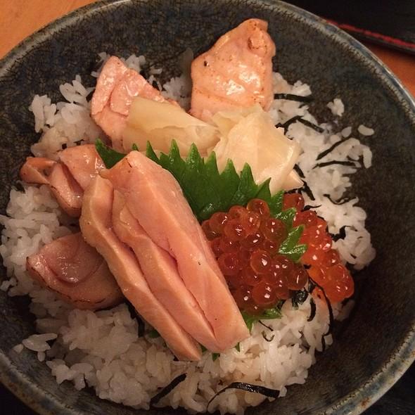 Salmon Belly Rice Bowl