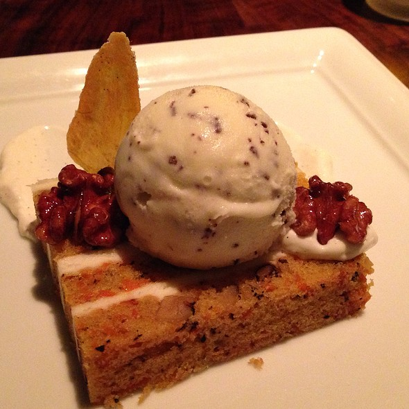 Carrot Cake @ Absinthe Brasserie & Bar
