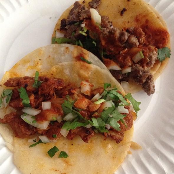 Al Pastor And Carne Asada Tacos