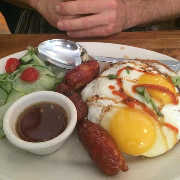 Longganisa, Eggs And Rice @ B*Star