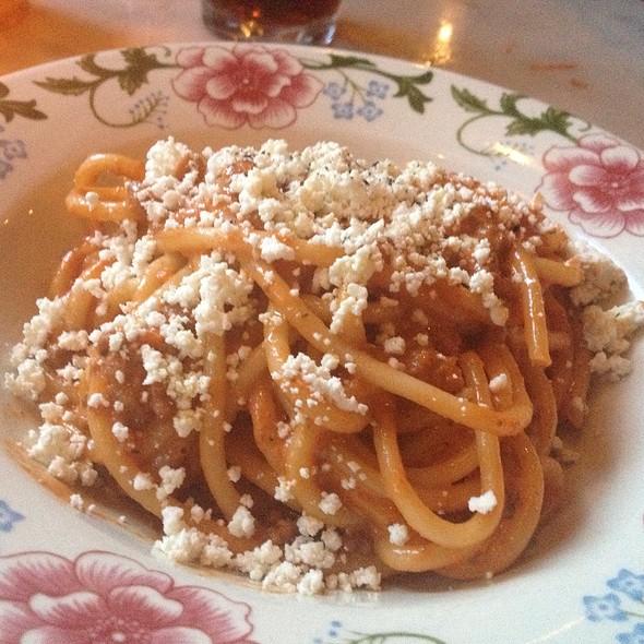 Spaghetti Carbonara @ Bar La Grassa