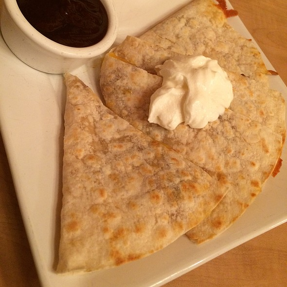 Bbq Chicken Quesadill @ Elmer's Breakfast-Lunch-Dinner