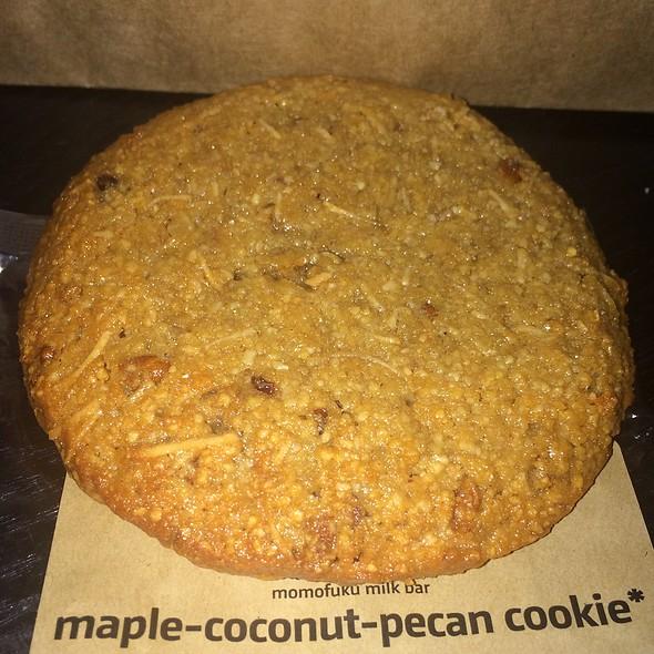 Maple Coconut Pecan Cookie