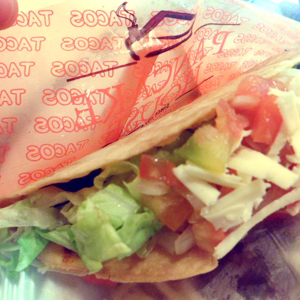 Taco @ Pancake House