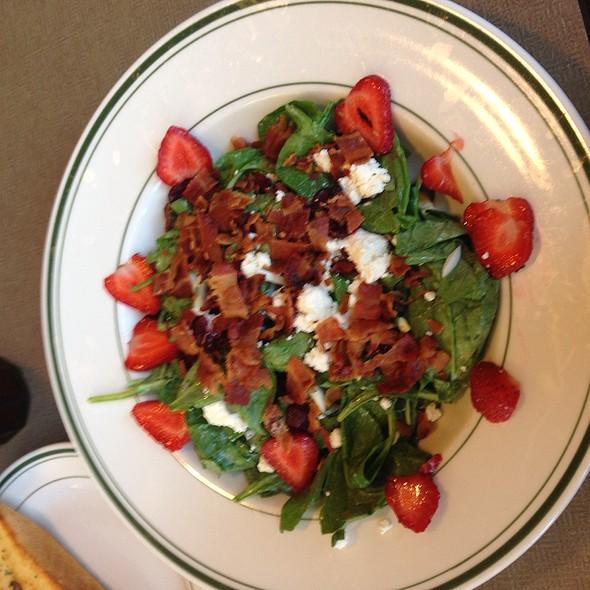 Spinich Salad @ J&M's Family Restaurant