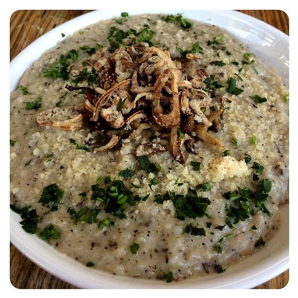 mushroom risotto @ B Restaurant & Bar