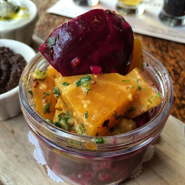 Pickled Beetroot Jar - Close Up