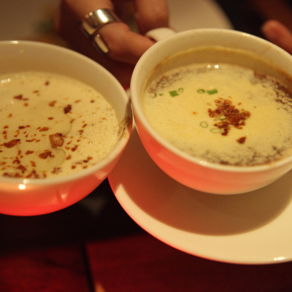Mushroom soup @ Bistro Filipino by Chef Laudico