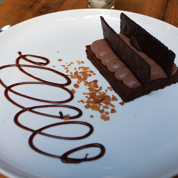 Amaretto Flourless Chocolate Torte @ Purple Cafe and Wine Bar