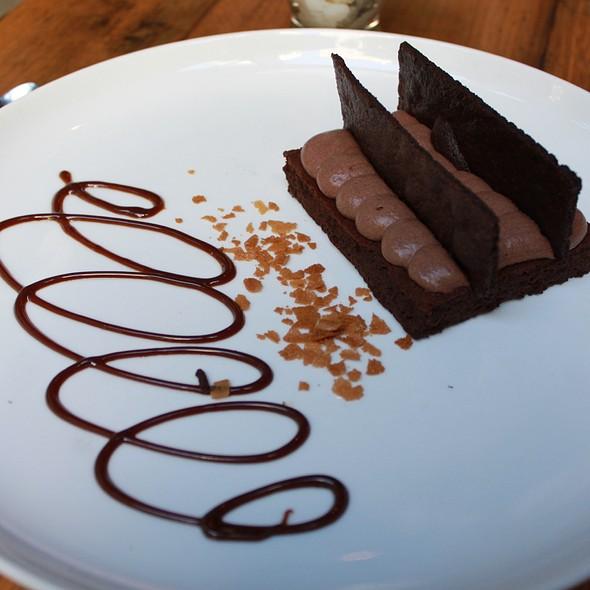 Amaretto Flourless Chocolate Torte @ Purple Cafe and Wine Bar