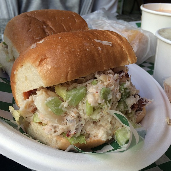 Dungeness Crab Roll @ Pike Place Chowder Restaurant  - Downtown Seattle