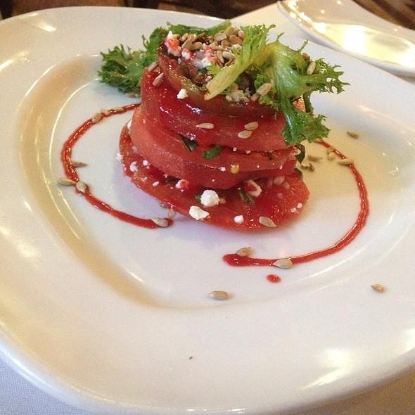 Tomato and Watermelon Salad @ Crescent Grill