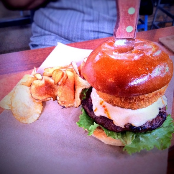 OMG Burger @ Whiskey Cake