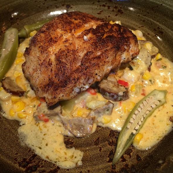 Blackened Grouper @ Highball & Harvest - The Ritz-Carlton Orlando, Grande Lakes