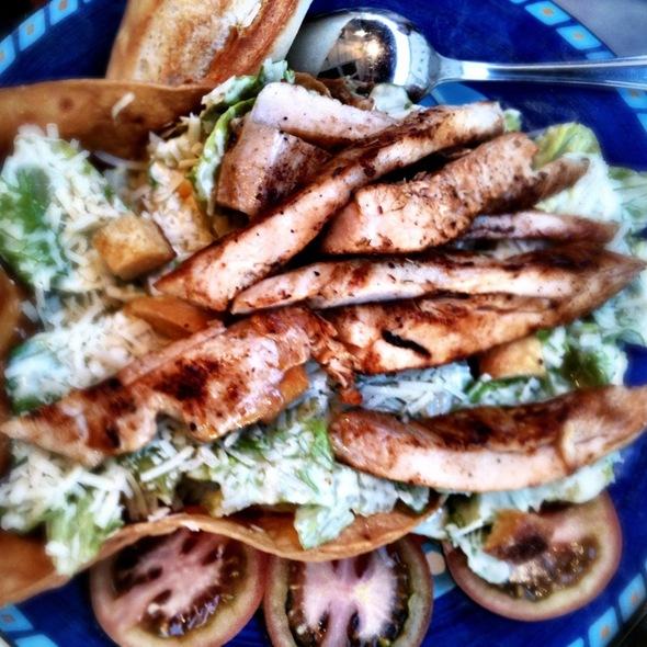 Chicken ceasar salad @ Joe Penas