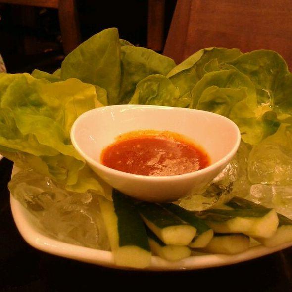 Fresh Vegetable Salad @ Gyu Gyu Tei Bangna ll กิว กิว เต้ บางนา