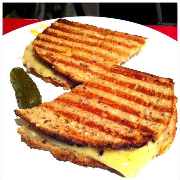 Grilled Cheese Sandwich @ Holy Oak