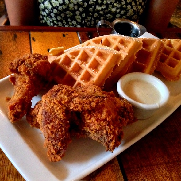 Chicken and Waffles @ Oddfellows