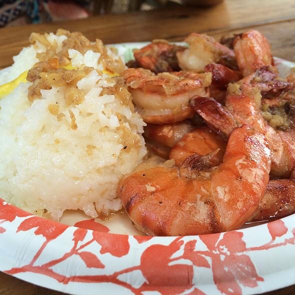 Garlic Shrimp Scampi @ Giovanni's Famous Shrimp