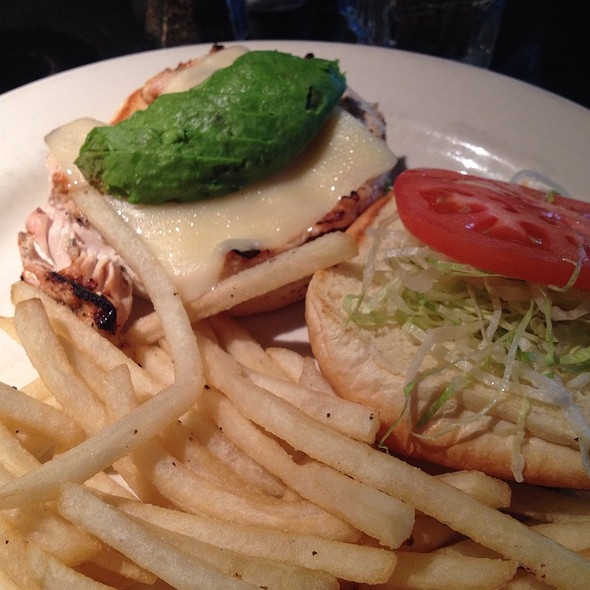 Avocado Chicken Sandwich - Rock Bottom Brewery Restaurant - Boston, Boston, MA