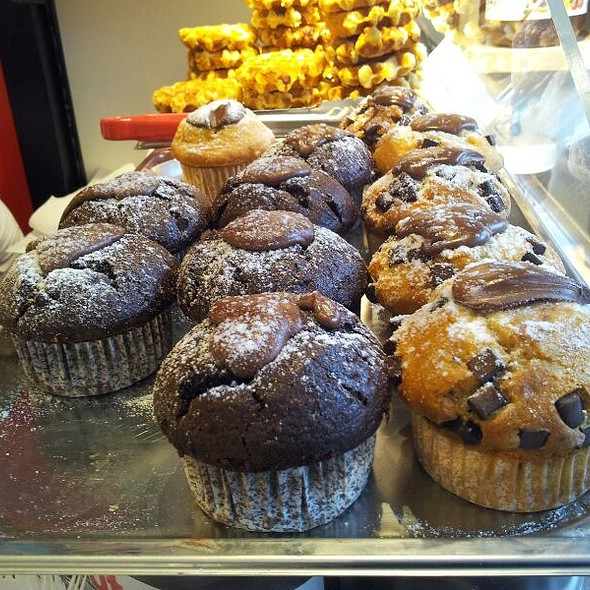Muffins With Nutella @ Icebar Nutella