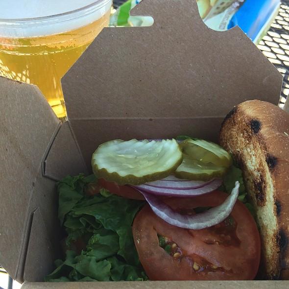 Cheeseburger @ Whole Foods Market