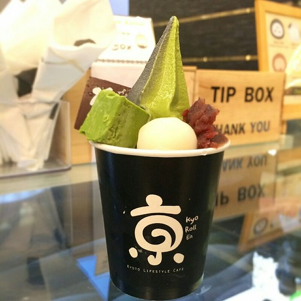 Matcha Soft-Cream @ Kyo Roll En (เกียวโรลเอ็น)