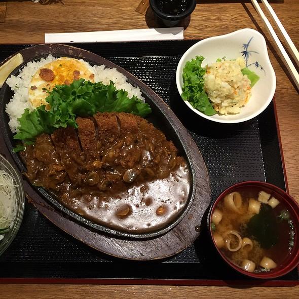 Tonkatsu Loco Moco @ Tonkatsu Ginza Bairin