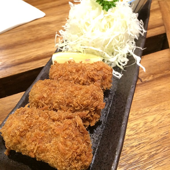 Cream Croquettes @ Tonkatsu Ginza Bairin