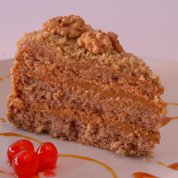 Torta Nuez Manjar @ Divina Dulzura