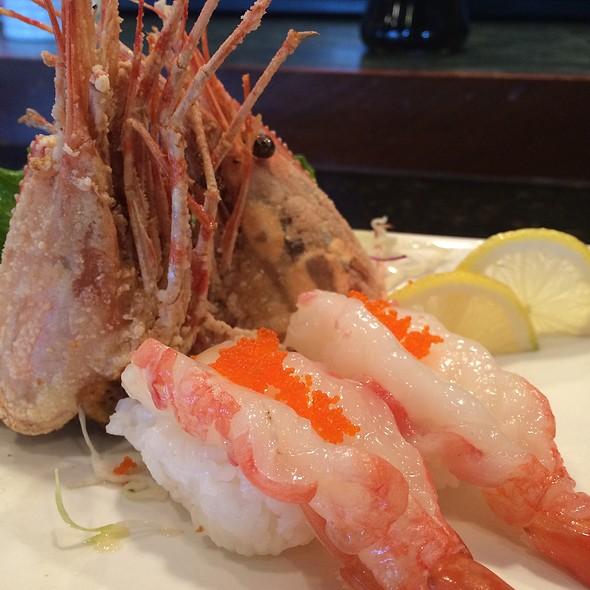 Sweet Shrimp W/ Fried Shrimp Head @ Osaka Japanese Restaurant