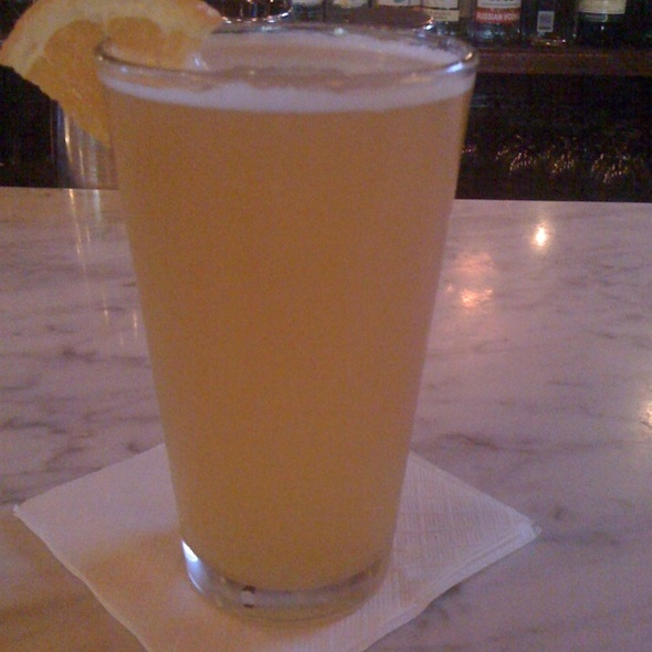 Allagash White Beer @ Rose Tattoo Cafe the