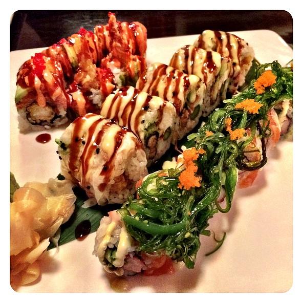 Rose Lady Roll @ Sushi Train