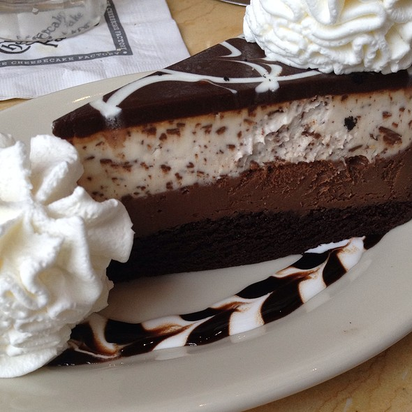Chocolate Tuxedo Cream Cheesecake @ The Cheesecake Factory